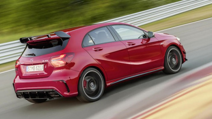 Facelifted Mercedes A-Class comes blazing in