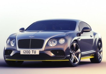 Bentley Continental GT Speed re-imagined