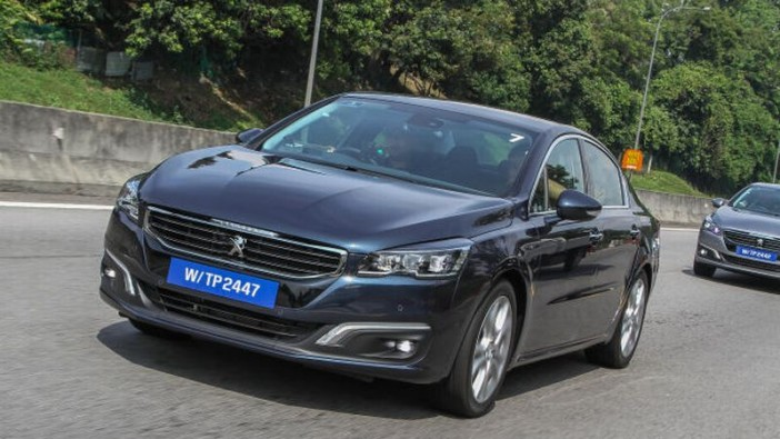 First drive of facelifted Peugeot 508