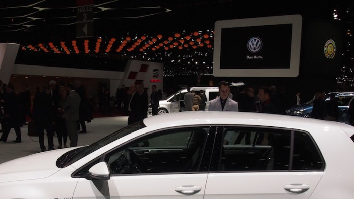 VW at 2015 Geneva Motor Show