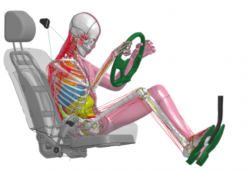 Toyota upgrades virtual crash dummy in safety research