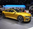 The VW Sport Coupe Concept GTE at the 2015 Geneva Motor Show in March.