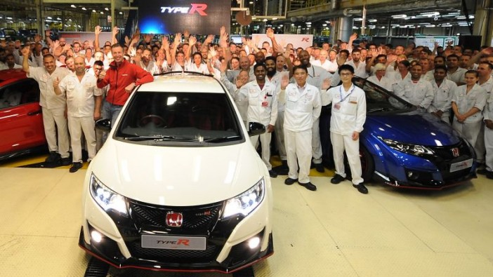 British-made Civic Type R to be exported to Japan
