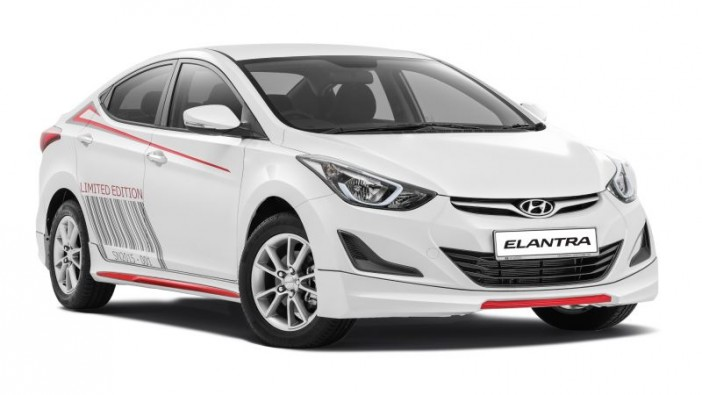 Elantra springs a limited Sport Edition