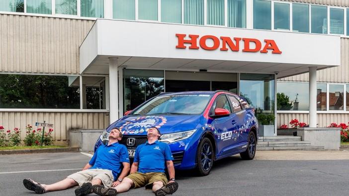Honda Civic Tourer achieves 2.35L/100km