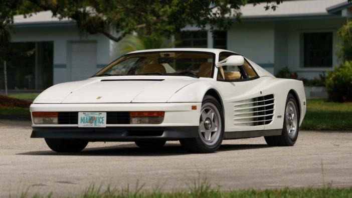 'Miami Vice' Ferrari up for auction