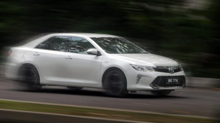Toyota Camry Hybrid – loaded and loved