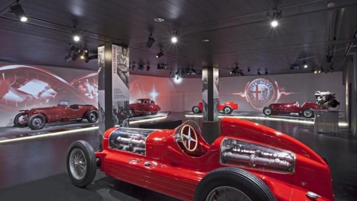 Alfa Romeo museum re-opens its doors