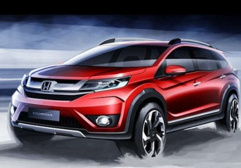 Next up: A 7-seat BR-V crossover from Honda