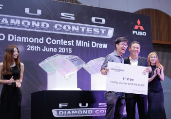 Final draw for Diamond FUSO contest