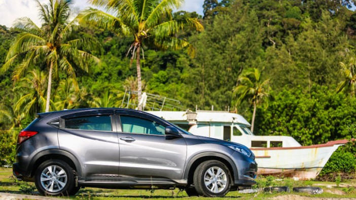 Sun, sea and the Honda HR-V