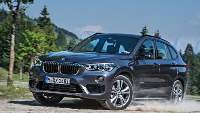 BMW X1 driven in Munich