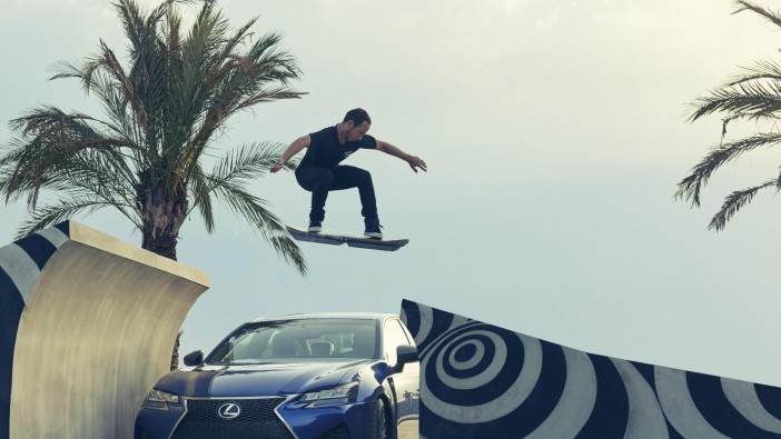Lexus Hoverboard lifts off