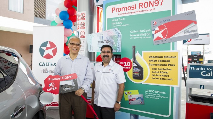 Caltex kicks off RON97 promo