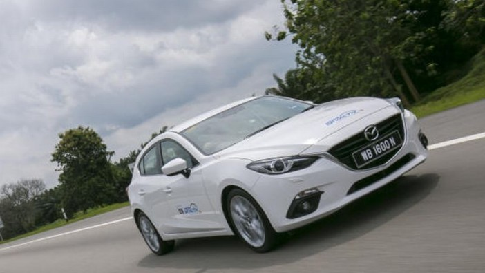 Mazda3 on a SkyActiv mission to impress