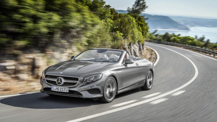 Open-top luxury in the S-Class Cabriolet