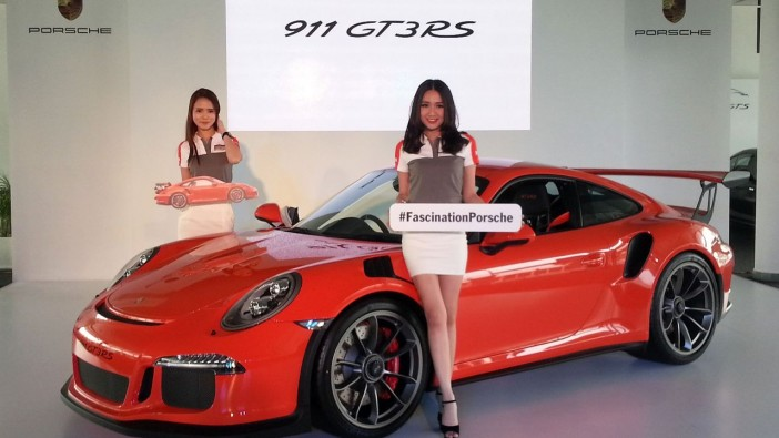 Porsche 911 GT3 RS is yours from RM1.8mil