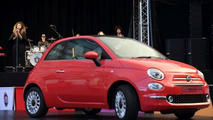 New Fiat 500 and singer Ella Eyre debut new track
