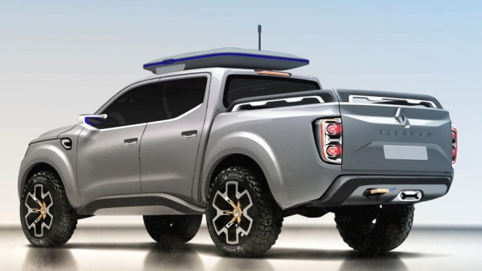Renault to go after 1-tonne truck segment with ALASKAN Concept