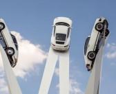 Porsche's soaring sculpture pays homage to 911