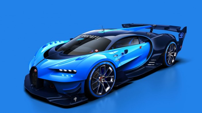 Bugatti Vision Gran Turismo for the fans