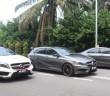 Mercedes-AMG GLA 45 Edition 1, A 45 and CLA 45