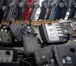 Volkswagen hood masks and covers for diesel TDI engine are seen in this illustration in second-hand car parts in Jelah, Bosnia and Herzegovina. - Reuters