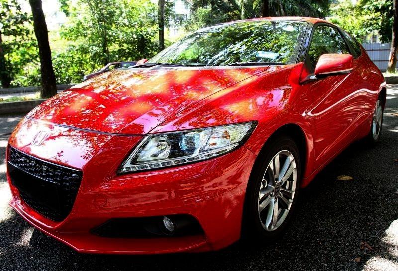 The old look as seen in the 2013 CR-Z.