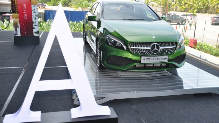 Facelifted Mercedes-Benz A-Class launched