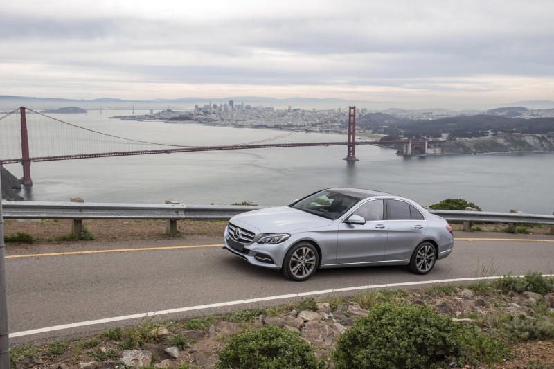 rendezvous with mercedes benz c 350 e in san francisco. Black Bedroom Furniture Sets. Home Design Ideas