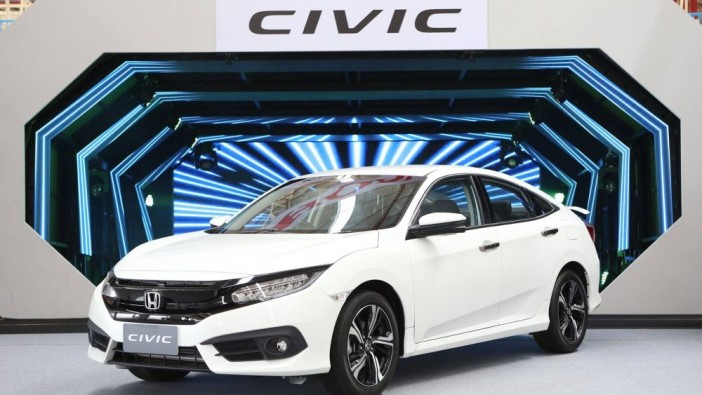 Thailand gets all-new Honda Civic