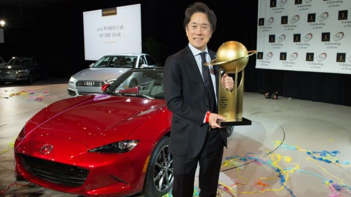 Mazda MX-5 is 2016 World Car of the Year in historic double