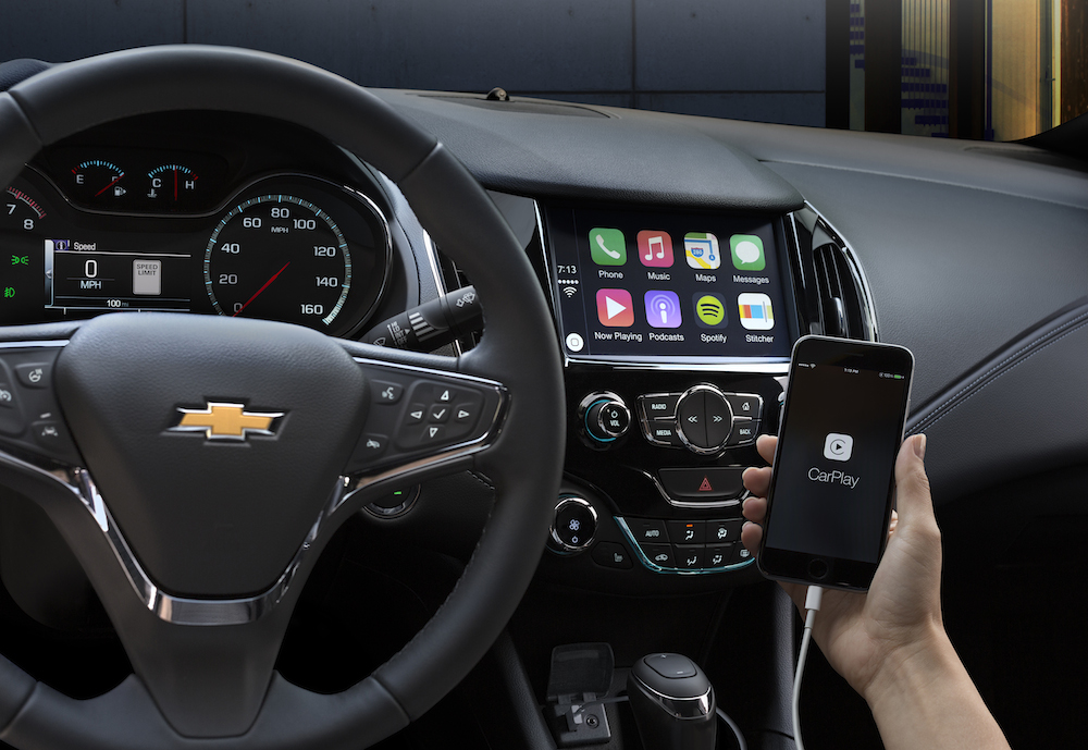 Packed with new technologies such as available Android Auto, Apple CarPlay and new active safety features, as well as a more spacious interior and an athletic, aerodynamically optimized design, the 2016 Cruze elevates the compact car segment.