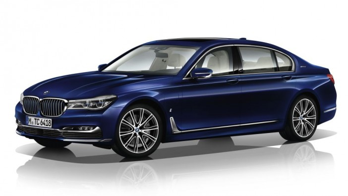 BMW is 100 years old, bring out 100 special edition 7 series