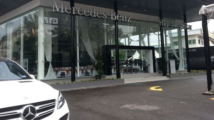 First mercedes benz city service opens in kl news carsifu for Mercedes benz rockville centre service