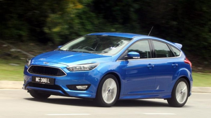 New Ford Focus driven